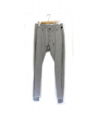 wjk(ダブルジェイケイ)の古着「side stripe pants」|グレー