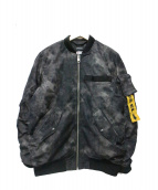 DIESEL(ディーゼル)の古着「MA1ジャケット」
