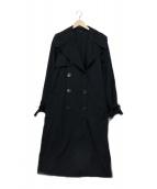 GUCCI(グッチ)の古着「ナイロントレンチコート」|ネイビー