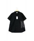 uniform experiment(ユニフォーム エクスペリメント)の古着「半袖シャツ」 ブラック