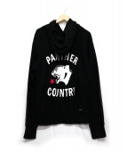 SOPHNET.(ソフネット)の古着「PANTHER COUNTRY PULL OVER HOOD」|ブラック