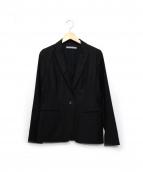 theory luxe(セオリー リュクス)の古着「BERGMAN2テーラードジャケット」|ブラック