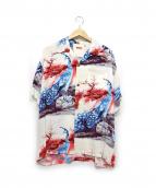 SUN SURF(サンサーフ)の古着「S/Sレーヨンアロハシャツ」|ホワイト×ブルー