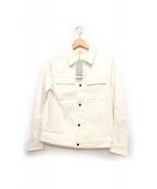 Calvin Klein(カルバンクライン)の古着「カイハラデニムジャケット」|ホワイト