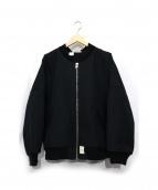 N.HOOLYWOOD(エヌハリウッド)の古着「フライトジャケット」|ブラック