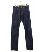 Rags McGREGOR(ラグスマックレガー)の古着「セルビッチデニムパンツ」 インディゴ