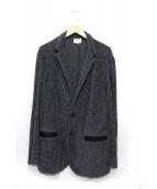 LANVIN en Bleu(ランバン オン ブルー)の古着「パイルジャケット」|グレー