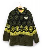 Supreme(シュプリーム)の古着「Snowflake Toggle Fleece Jacket」|イエロー