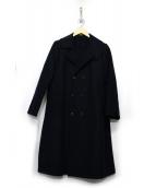 45rpm(45アールピーエム)の古着「メリノ二重織コート」|ネイビー