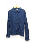 45rpm(45アールピーエム)の古着「インディゴ染めスウェットジャケット」|ネイビー