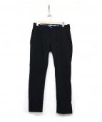 giab's ARCHIVIO(ジャブス アルキヴィオ)の古着「PONTORMO シャカヌメパンツ」|ブラック