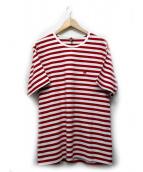 SCYE(サイ)の古着「ボーダーTシャツ」|レッド×ホワイト