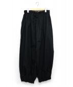 marmari(マルマリ)の古着「ギャザーバルーンパンツ」|ブラック