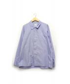 VISVIM(ヴィスヴィム)の古着「FREE EDGE SHIRT」 ブルー