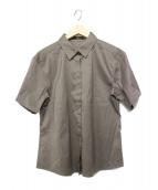 BOSS HUGO BOSS(ボスヒューゴボス)の古着「半袖シャツ」 グレー