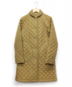 Traditional Weatherwear(トラディショナルウェザーウェア)の古着「キルティングコート」 ベージュ
