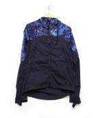 C.P COMPANY(シーピーカンパニー)の古着「フーデッドナイロンジャケット」|ネイビー×ブルー