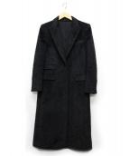 UNITED ARROWS TOKYO(ユナイティッドアローズトウキョウ)の古着「シャギーチェスターコート」|グレー