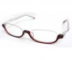 DJUAL(デュアル)の古着「伊達眼鏡」|レッド