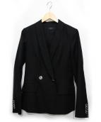 JOSEPH(ジョセフ)の古着「LEONORA / VIS LINEN ジャケット」|ブラック