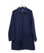 HELLY HANSEN(ヘリーハンセン)の古着「ナイロンステンカラーコート」|ネイビー
