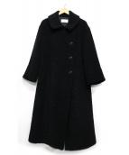 Rumche(ラムシェ)の古着「ダブルコート」|ブラック