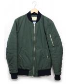 MAISON KITSUNE(メゾンキツネ)の古着「ボンバージャケット」|オリーブ