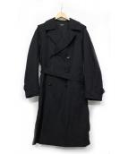 A VONTADE(アボンタージ)の古着「Field Trench Coat」|ブラック