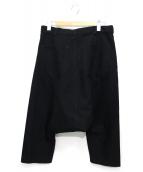BLACK COMME des GARCONS(ブラックコムデギャルソン)の古着「サルエルパンツ」|ブラック