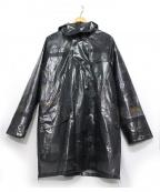 TAAKK(ターク)の古着「スケルトンコート」 ブラック