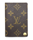 LOUIS VUITTON(ルイヴィトン)の古着「カードケース」|ブラウン