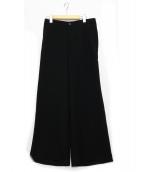 ISSEY MIYAKE(イッセイミヤケ)の古着「ワイドパンツ」|ブラック