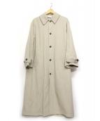 yuni(ユニ)の古着「ステンカラーコート」|ベージュ