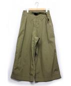 GRAMICCI(グラミチ)の古着「WEATHER BAGGY PANTS」|オリーブ