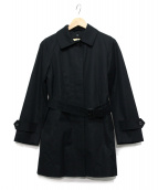 Traditional Weatherwear(トラディショナル ウェザーウェア)の古着「ライナー付ステンカラーコート」|ブラック