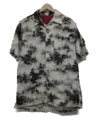 Bohemians(ボヘミアンズ)の古着「アロハシャツ」 グレー