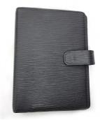 LOUIS VUITTON(ルイヴィトン)の古着「手帳カバー」|ブラック