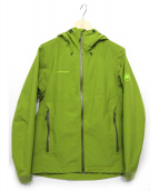 MAMMUT(マムート)の古着「Convey Tour HS Hooded Jacket」|ライトグリーン