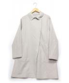 DRESSTERIOR(ドレステリア)の古着「ウール比翼コート」|ベージュ