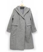SLOBE IENA(スローブ イエナ)の古着「ニュアンスフードコート」|グレー
