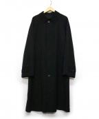 allegri(アレグリ)の古着「比翼ステンカラーコート」|ネイビー