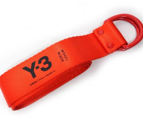 Y-3(ワイスリ)Y-3 (ワイスリー) リングベルト レッドの古着・服飾アイテム