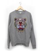 KENZO(ケンゾー)の古着「タイガー刺繍スウェット」 グレー