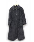 LEILIAN(レリアン)の古着「アンゴラウールコート」|グレー