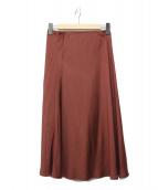 23区(23ク)の古着「ツイストベネシャンマーメイドスカート」|ボルドー
