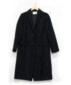 UNITED ARROWS TOKYO(ユナイティッドアローズトウキョウ)の古着「UBCB W/Nチェスターコート」 ブラック