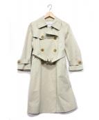 J&M DAVIDSON(ジェイエムデビッドソン)の古着「トレンチコート」|ベージュ