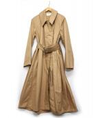 LEMAIRE(ルメール)の古着「オーバーサイズジップコート」|ベージュ