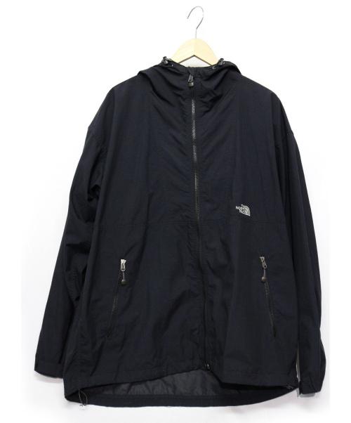 THE NORTH FACE(ザノースフェイス)THE NORTH FACE (ザノースフェイス) コンパクトジャケット ブラック サイズ:XLの古着・服飾アイテム