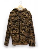 TENDERLOIN(テンダーロイン)の古着「T-WOOL BAMBOO PARKA SHT」|カーキ×ベージュ